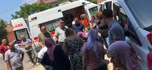 Reyon görevlisi kadının akıl almaz ölümü Markete camdan giren otomobilin ezdiği reyon görevlisi kadın öldü