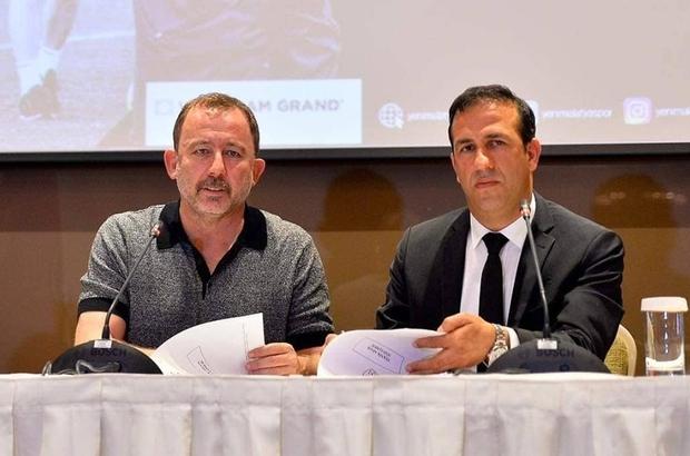 Evkur Yeni Malatyaspor'da Sergen Yalçın coşkusu