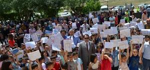 Darende'de 5 bin 569 öğrenci karnesine kavuştu
