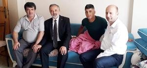 Bursalı asker Pençe Harekatı'nda gazi oldu Pençe Harekatı'nda yaralanan Uzman Çavuş Oğuz Altıntaş'a ziyaret