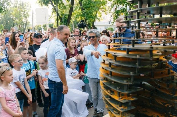 Yardımcı'nın eserleri Ukrayna'da kalıcı olarak sergilenecek