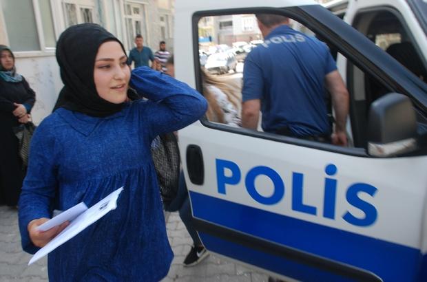 Sınava geç kalan 9 öğrenciyi polis ekipleri yetiştirdi
