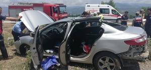 Tokat'ta trafik kazası: 2 yaralı