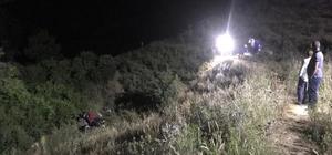 Bursa'da 70 metre yükseklikten traktörle uçan adam hayatını kaybetti Unuttuğu ızgarayı almaya gitti, 70 metreden uçuruma yuvarlandı