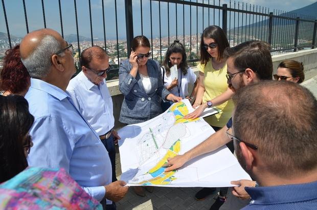 Büyükşehir ve Gemlik belediyeleri kuzey planlarını inceledi