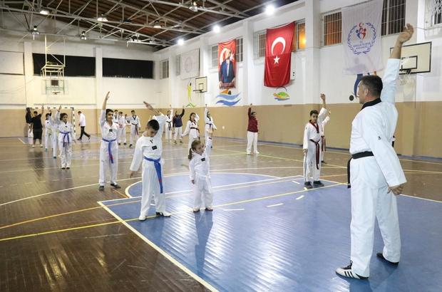 Spor kursları gençleri bekliyor