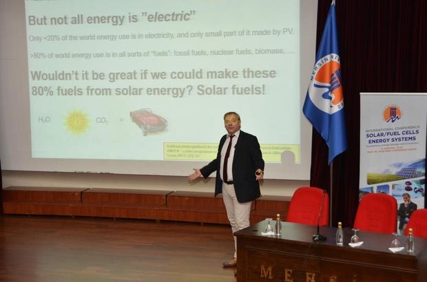 MEÜ'de 'Enerji sistemleri' konulu konferans