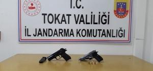 Sulusaray'da silah kaçakçılarına operasyon