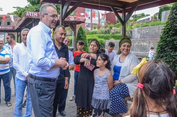 Özkan'a Roman vatandaşlardan İstanbul seçimlerine destek sözü