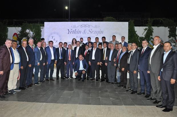 TOBB Başkanı Hisarcıklıoğlu Diyarbakır'da Düğün törenine Erzurum Ticaret Borsası Başkanı Hakan Oral'da katıldı