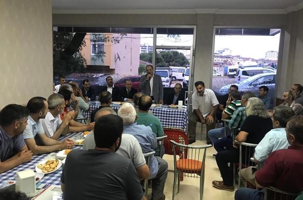 MHP İl Başkanı Karataş, Güngören ve Sancaktepe'de hemşerileri ile bir araya geldi