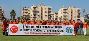 Toroslar'da Köylerarası Futbol Turnuvası başladı