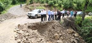 Mesudiye ve Gölköy'de aşırı yağış etkili oldu