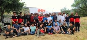 Diyarbakır'da zorlu arama kurtarma eğitimi
