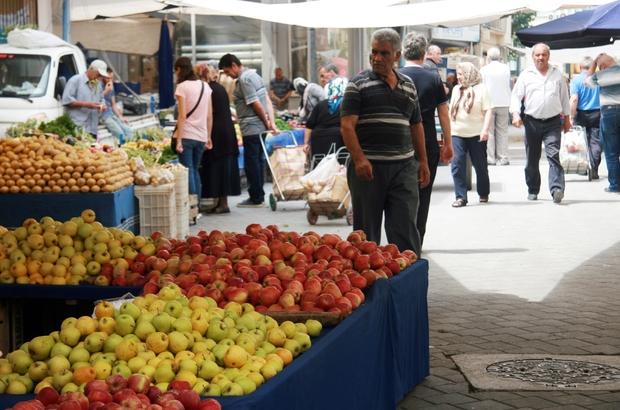 Denizli'de sebze ve meyve fiyatları düşüşe geçti Fiyatlar vatandaşın çoğunluğunun yüzünü güldürdü