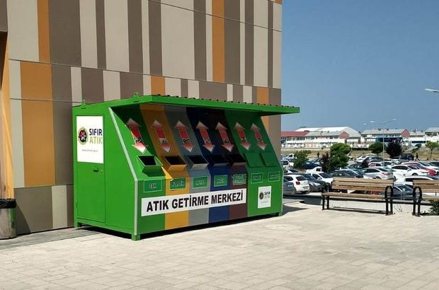 Edremit Belediyesi 'Atık Getirme Merkezi' kurdu