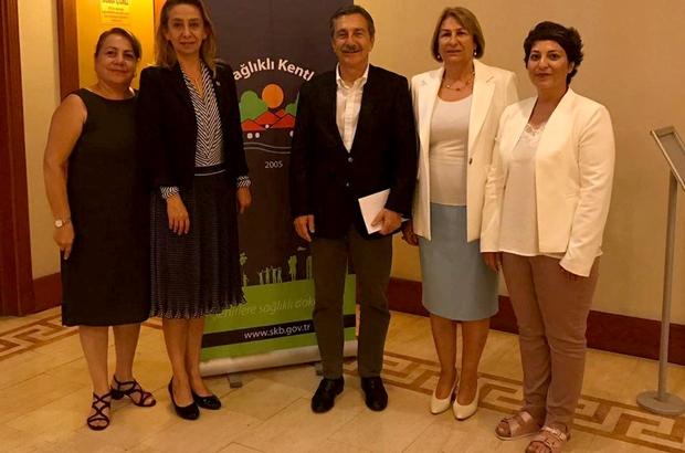 Başkan Ataç, Sağlıklı Kentler Birliği Toplantısı'na katıldı