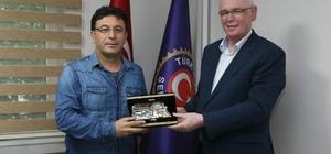 Kazım Kurt'tan Türk Harb-İş'e hayırlı olsun ziyareti