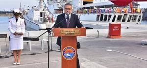 """Vali Su: """"Sahil Güvenlik, vatandaşa güven, suçlulara korku veriyor"""" Sahil Güvenlik Komutanlığı'nın kuruluşunun 37'nci yılı Mersin'de düzenlenen törenle kutlandı"""