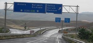 Yozgat-Ankara-Samsun Karayolu trafiğe açıldı