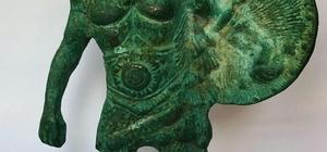 Isparta'da Viking Savaşçısı figürlü tarihi eser ele geçirildi