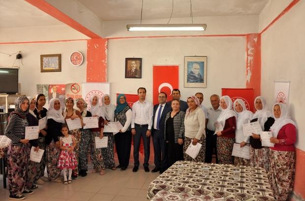 Kendi köylerinde girişimcilik eğitimi aldılar Sarıcakaya Düzköy'de KOSGEB Uygulamalı Girişimcilik Eğitimi tamamlandı, sertifikilar dağıtıldı