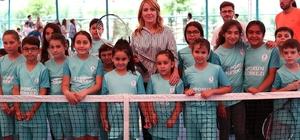 Merkezefendi ücretsiz yaz spor okulları açıldı Merkezefendi yaz spor okulları 200 bin öğrenci katılımıyla açıldı
