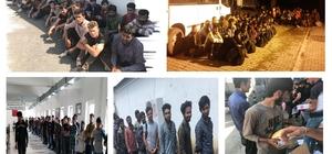 Van'da 139 kaçak göçmen yakalandı