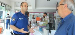'Polisimi seviyorum mahallemde olan olayları 155'e bildiriyorum' projesi
