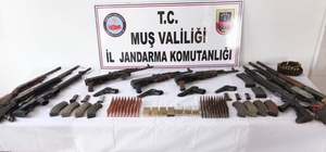Silah kaçakçılarına operasyon: 5 gözaltı