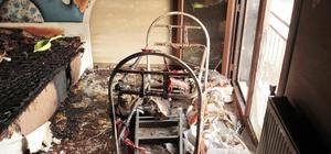 Diyarbakır'daki ev bir hafta içinde iki kez yandı