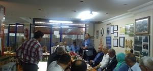 MHP İl Başkanı Karataş, Gaziosmanpaşa'da hemşerilerinden destek Cumhur ittifakına istedi