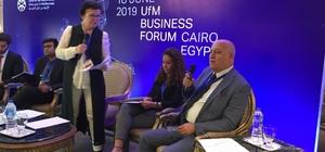 MTSO, Mersin ile Mısır arasında ticareti artırmak için harekete geçti Kahire'de UFM İş Forumu'na konuşmacı olarak katılan MTSO Başkanı Kızıltan, Mersin ile Mısır arasında olumlu bir hava oluştuğunu, Mısırlıların, Adana'dan ülkelerine doğrudan uçuş istediklerini belirtti