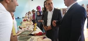 Hizan'da yıl sonu sergisi düzenlendi