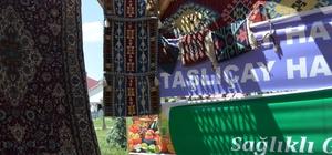 Elde halı ve kilim dokuma geleneği yaşatılıyor