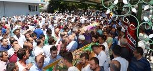 Birlikte öldüler birlikte son yolculuğa uğurlandılar Fatsa, kazada hayatını kaybeden anne ve kızına ağladı