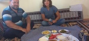 Fransız gezgine Türk sıcaklığı Dünya turuna çıkan gezgine Darende'de sıcak karşılama