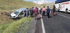 Erzurum'da trafik kazası: 1 ölü 2 yaralı