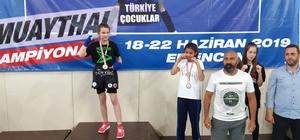 Olurlu Elvin 40 kiloda Türkiye Şampiyonu