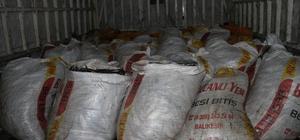 Muradiye ilçesinde 4 ton kaçak avlanmış inci kefali ele geçirildi