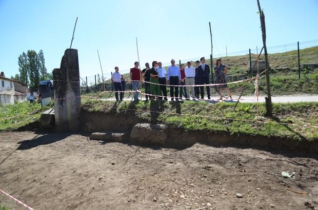 Aizanoi Antik Kenti'nde kazı çalışmaları