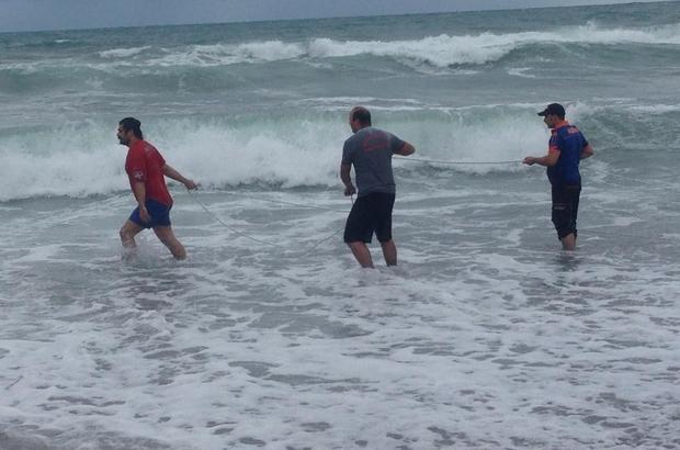 Giresun'da boğulma: 1 kişi kurtarıldı, 1 kişi kayıp