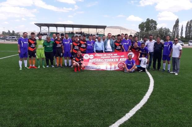 Altıntaş Kaymakamlığı futbol turnuvası başladı