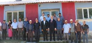 Kaymakam Arcaklıoğlu: 15 yıl önce köylere alt yapı çalışması yapılacak denilse kimse inanmazdı