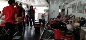 Kastamonu'da 142 ünite kan toplandı
