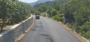 Perşembe'ye sıcak asfalt Perşembe'nin grup yolları sıcak asfalta kavuşuyor
