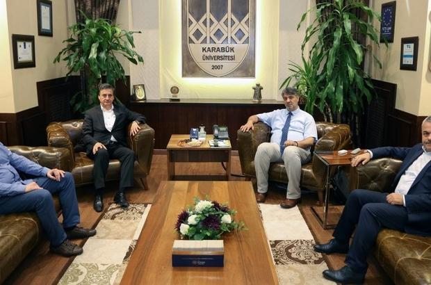AK Parti Milletvekilleri Rektör Polat'a başarılar diledi