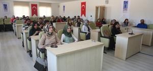 Tuşba Belediyesi personeline 'kanser' eğitimi
