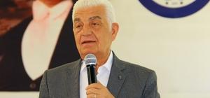 Başkan Gürün Menteşe Muhtarlarıyla buluştu Muğla Büyükşehir Belediye Başkanı Osman Gürün Menteşe ilçesindeki mahalle muhtarları ile bir araya geldi.