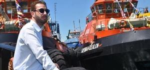 Ceyhan'da kabotaj bayramı kutlamaları yapıldı BOTAŞ tesislerindeki törende deniz şehitleri anısına denize çelenk bırakıldı